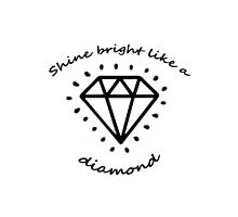 Shine Bright like a Diamond by harringe