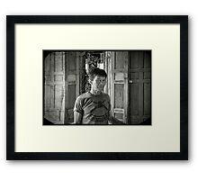 Retired soldier Framed Print