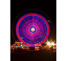Carnival Hypnosis Photographic Print