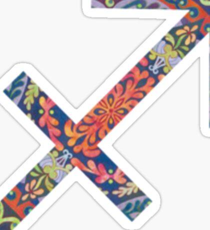 Sagittarius Star Sign Sticker