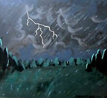 Storm in the Back Field by VibeForVibrant