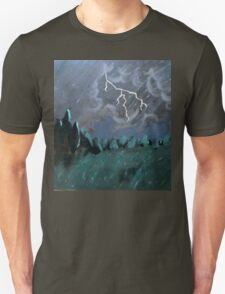 Storm in the Back Field Unisex T-Shirt