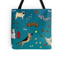 Collection of Dogs Tote Bag