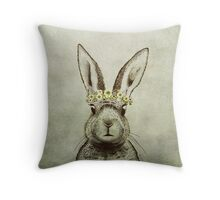 Lana Del Bunny Throw Pillow