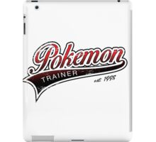 Pokemon Trainer_Red_Vintage iPad Case/Skin