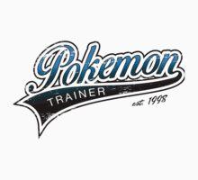 Pokemon Trainer_Blue_Vintage Kids Clothes
