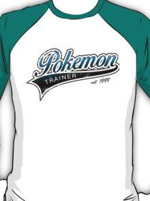 Pokemon Trainer_Blue_Vintage T-Shirt
