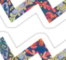 Aquarius Star Sign Sticker