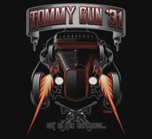 Tommy Gun '31 Tee by Pete Elliott