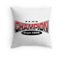 Pokemon Champion_Red Throw Pillow