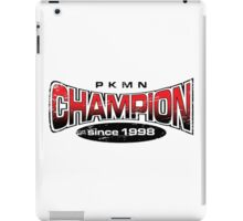 Pokemon Champion_Red iPad Case/Skin