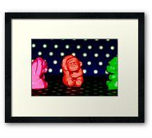 Monkey see...Monkey do... Framed Print