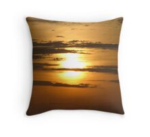 Halloween Sunset - Aldinga Beach  Throw Pillow