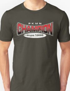 Pokemon Champion_Red_DarkBG Unisex T-Shirt