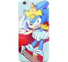 King Sonic the Hedgehog iPhone Case/Skin