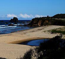 GlassHouse Rocks  Beach #8, Narooma by Evita