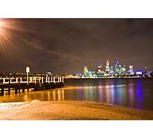 Perth over Swan Lake Photographic Print