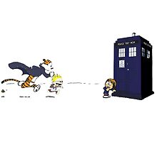 Calvin the Time Lord by DarthLlama