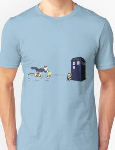 Calvin the Time Lord T-Shirt