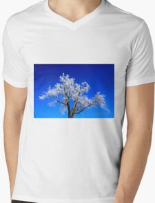 A Touch of Frost Mens V-Neck T-Shirt