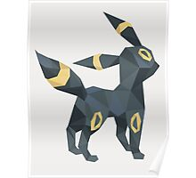 Origami Umbreon Poster