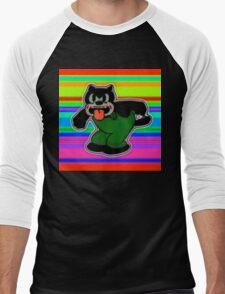 Creech Cat Men's Baseball ¾ T-Shirt