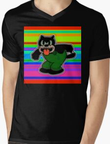 Creech Cat Mens V-Neck T-Shirt