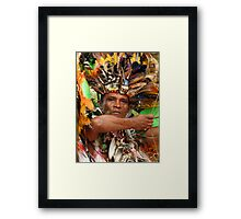 The Chief of Boca Da Valeria Framed Print