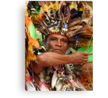 The Chief of Boca Da Valeria Canvas Print