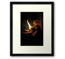 Cuban Fire Framed Print