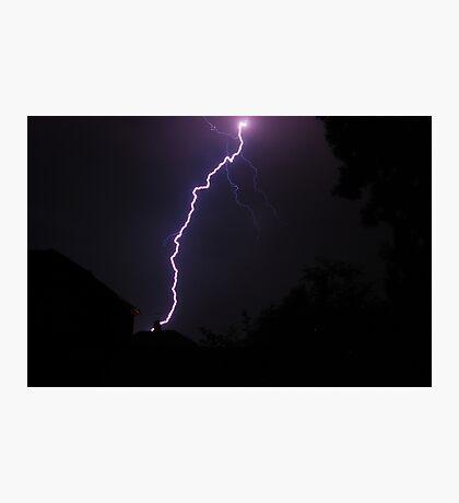 Free Electricity Photographic Print
