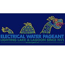Retro Walt Disney World Electrical Water Pageant Photographic Print