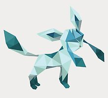Origami Glaceon by Lisa Richmond