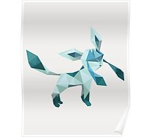 Origami Glaceon Poster