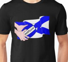 Rugby Scotland Flag Unisex T-Shirt