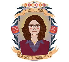 Liz Lemon Photographic Print