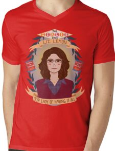 Liz Lemon Mens V-Neck T-Shirt