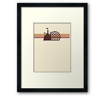 Retro Walt Disney World Logo Products Framed Print