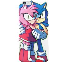 Sonic and Amy Rose (Sonamy) iPhone Case/Skin