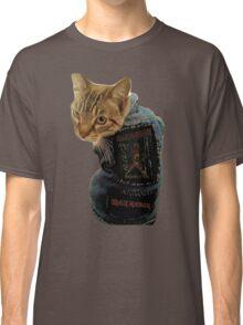 Iron Maiden Cat Classic T-Shirt