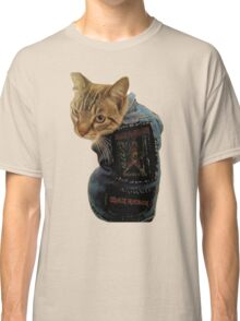 Iron Maiden Cat Classic T-Shirt