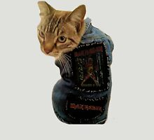 Iron Maiden Cat Womens Fitted T-Shirt