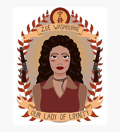 Zoe Washburne Photographic Print