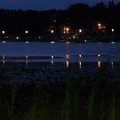 Sunday Lake At Dusk by AuntieJ