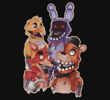 FIVE NIGHTS AT FREDDY'S 2- Withered away w/out text Kids Clothes