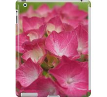 Red Hydrangea iPad Case/Skin