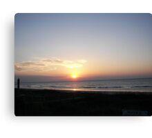 Atlantic Sunrise Canvas Print