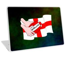 Rugby England Flag Laptop Skin