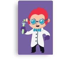 Cute Scientist Canvas Print