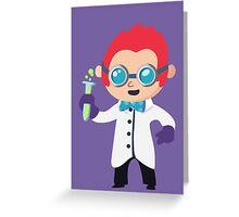 Cute Scientist Greeting Card